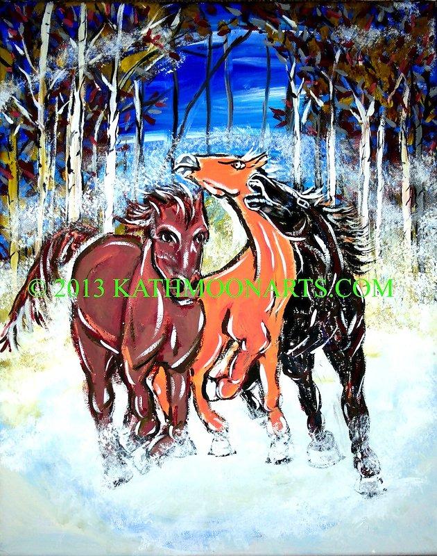 Cantabury Horses